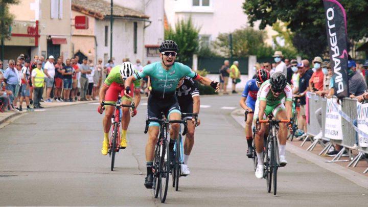 Victoire d'Antoine Huzeau à Chaunay (86) !