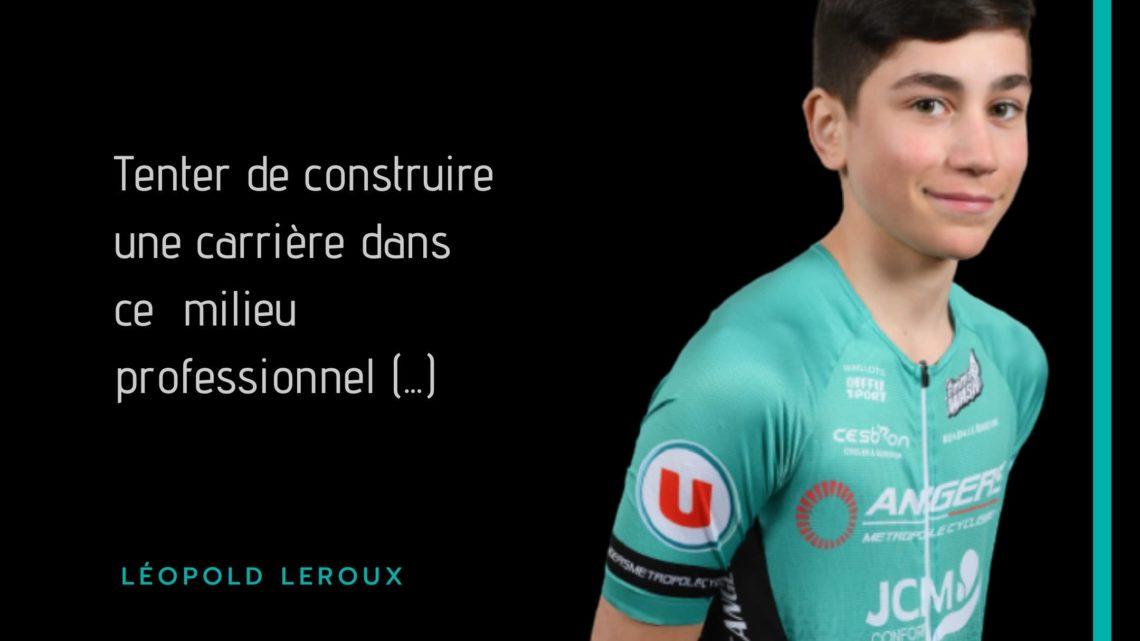 Léopold Leroux franchi en cap !
